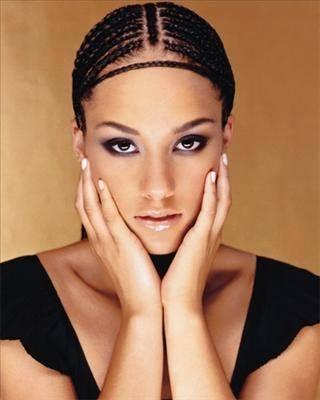 Alicia Keys - Remember when Alicia Keys made cornrows popular?