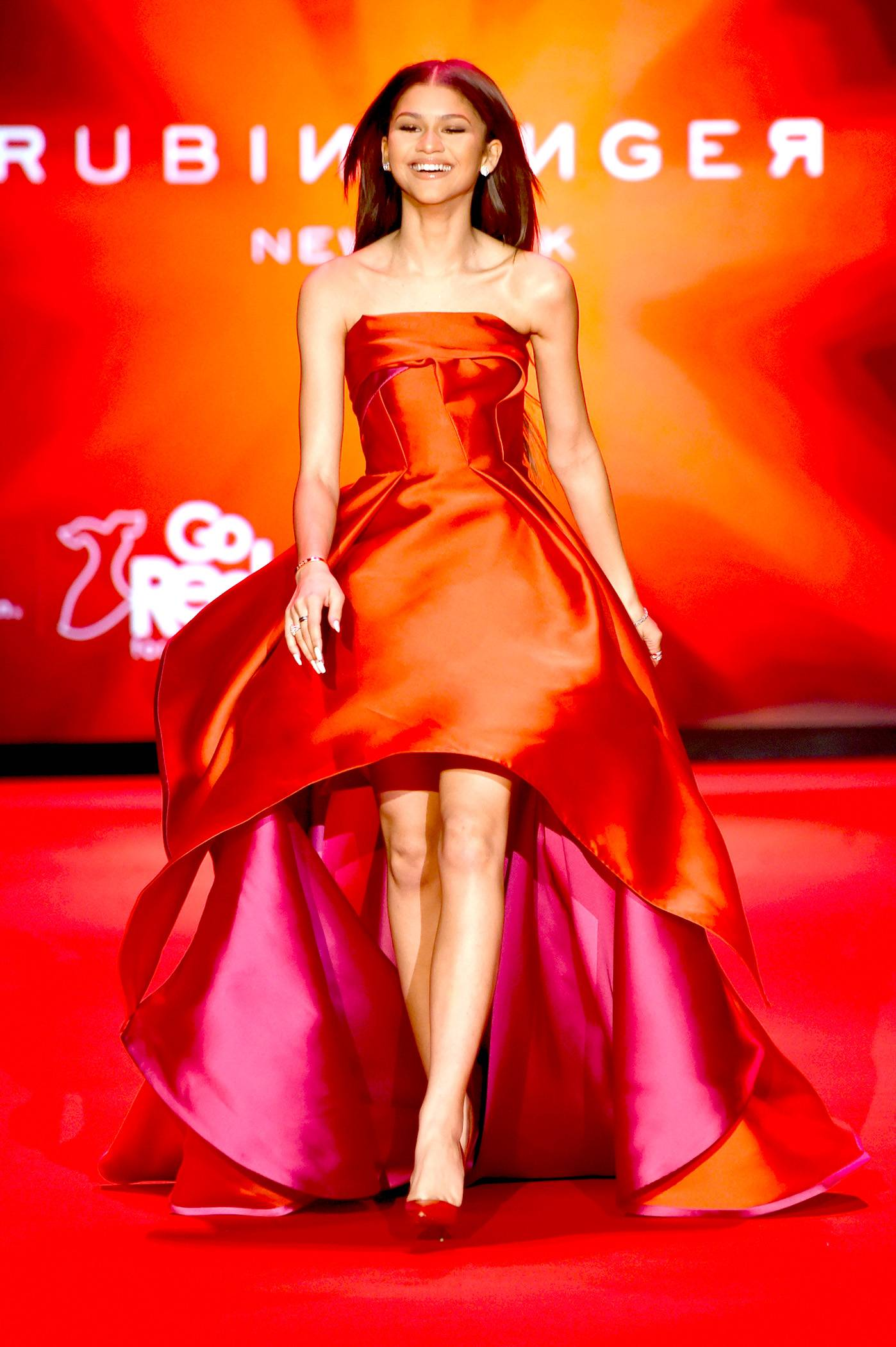 She Rips Runaways - Zendaya's been known to strut on a catwalk or two. #Unbothered.(Photo: Frazer Harrison/Getty Images for Go Red)