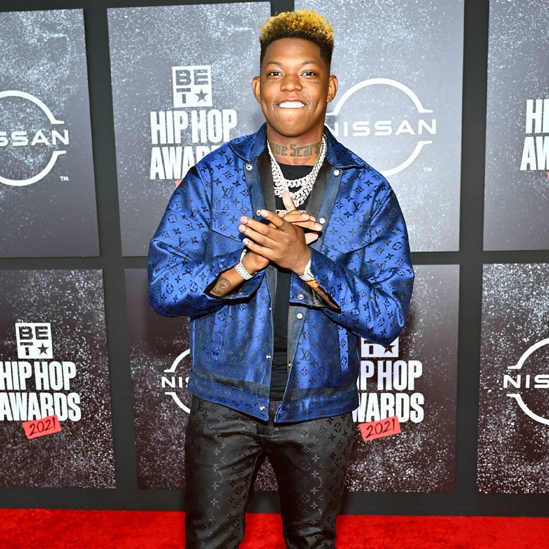 BET Hip Hop Awards 2021 | Red Carpet Yung Bleu | 1080 x 1080