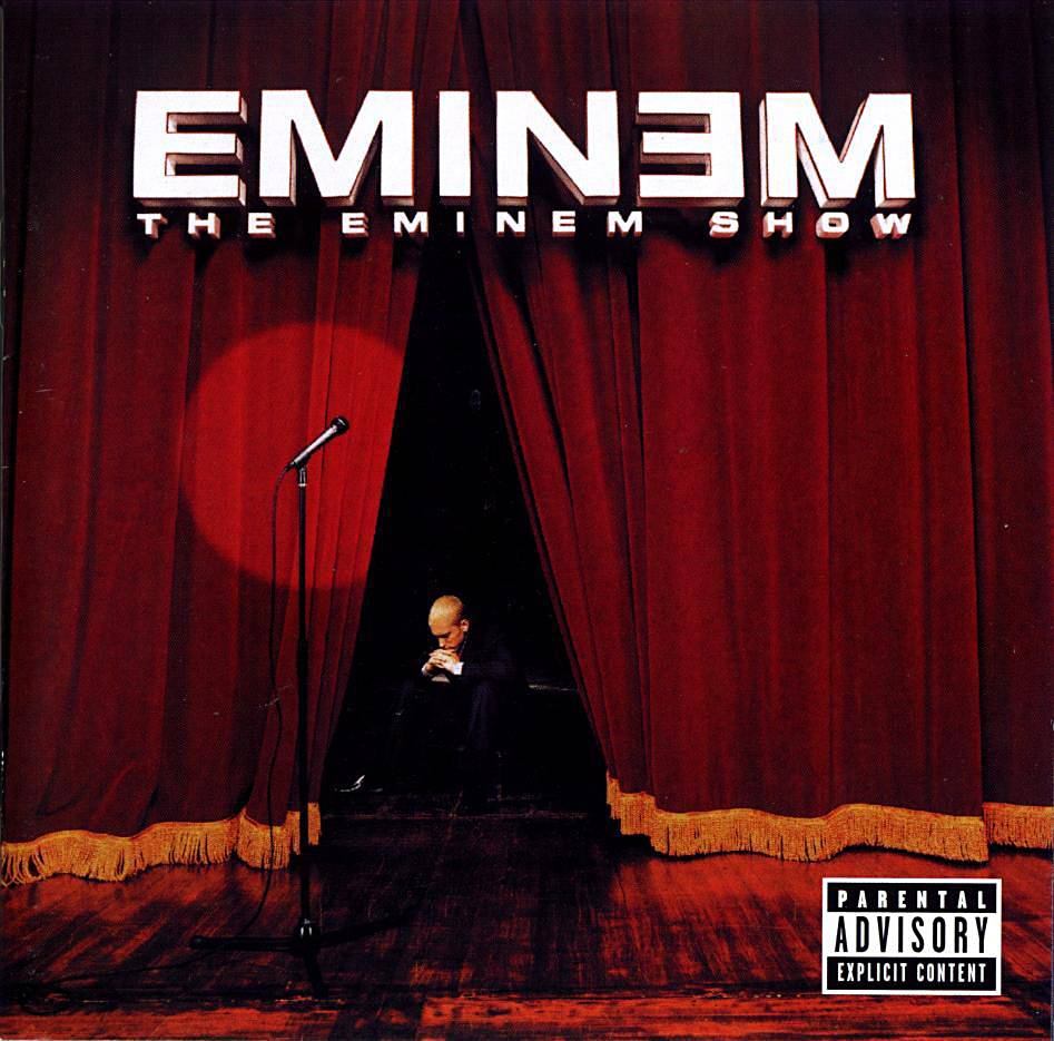 """Eminem featuring Nate Dogg, """"Till I Collapse"""" - An amped up anthem from The Eminem Show, Em professes his undying passion and plans to never let up as Nateserves up a catchy hook.(Photo: Shady/Aftermath)"""
