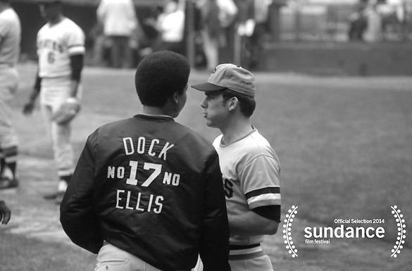 """No No: A Dockumentary - This feature-length documentary tells the true story of Dock Ellis, an MLB player who pitched a no-hitter while tripping on acid. The film, on the surface, chronicles the scandal that follows, but also paints a portrait of one of professional baseball's most """"unabashedly Black"""" players.(Photo: Baseball Iconoclasts, LLC)"""