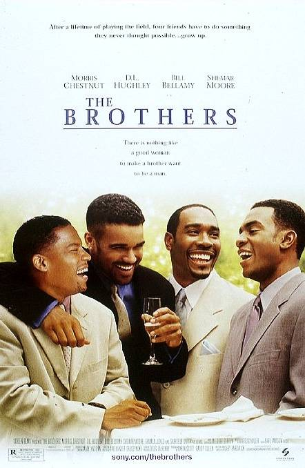 The Brothers - Yep. Another '90s wedding film with yet another set of super fine looking Black men, including Morris Chestnut. But, don't get us wrong. We're not complaining! If you haven't yet seen this heartwarming bromance, add it to your to-do list ASAP.(Photo: Screen Gems)