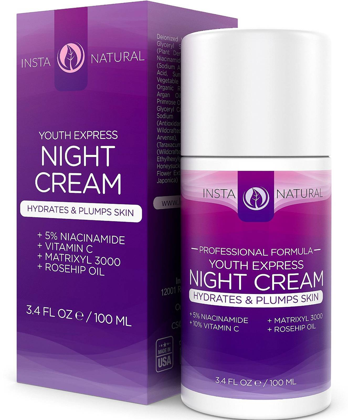 InstaNatural Youth Express Night Cream - $18.75 - It?s called ?beauty sleep? for a reason. During dream-time is when our skin does the most regenerating and healing. That?s why it?s important to moisturize and make use of nighttime absorption to aid healing and rejuvenation. This night cream, in particular, helps to reverse signs of aging and will have you feeling confident enough to say, ?I woke up like this!?(Photo: Courtesy of www.instanatural.com)
