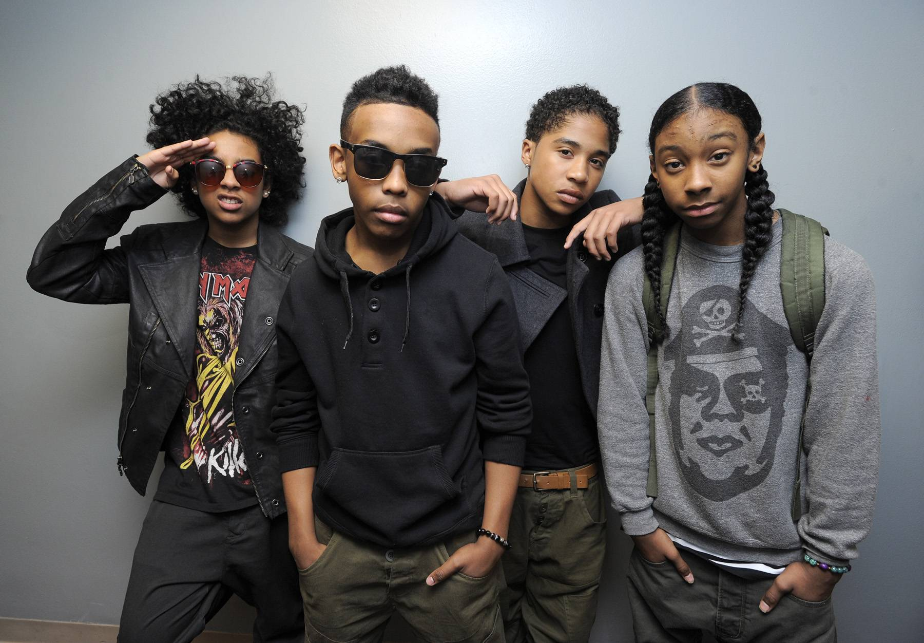 """Mindless Behavior - Mindless Behavior is in the running for Best Group and the Coca-Cola Viewers' Choice Award (for their """"Hit Hello"""") after dropping their debut album,#1 Girl, last year.(Photo: John Ricard/BET)"""