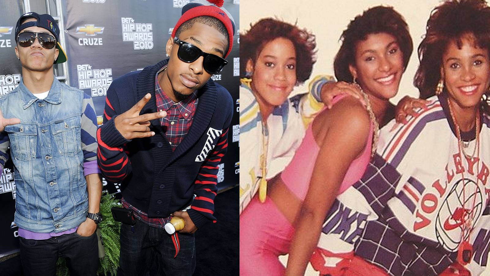 The New Boyz & J.J. Fad - The New Boyz and J.J. Fad have two things in common: they have two of the most memorable Cali dance tracks ever and their music video dance routines are classic!(Photos: Brad Barket/PictureGroup; Uncle Louie Music Group)