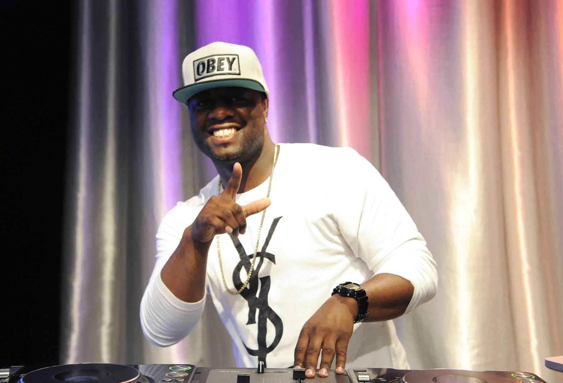 Play My Song - DJ at 106 & Park, May 29, 2012. (Photo: John Ricard / BET)