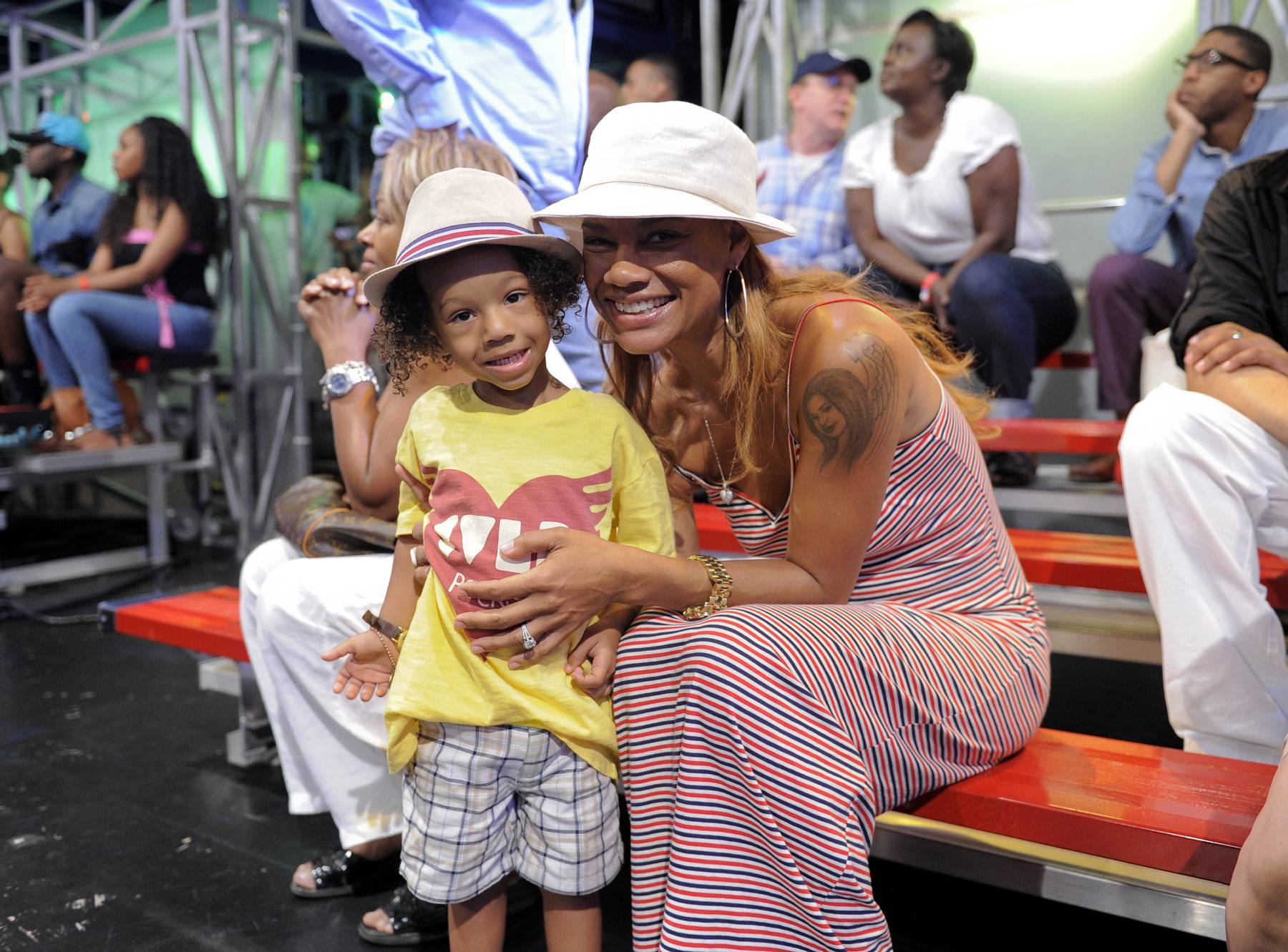 Hey Baby - Cassius Brown and Alicia Etheredge at 106 & Park, May 29, 2012. (Photo: John Ricard / BET)