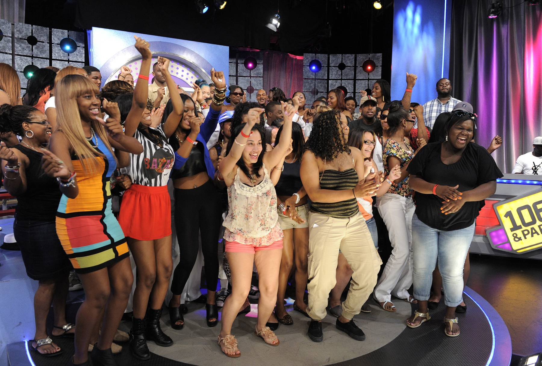 Get Live - The livest audience at 106 & Park, May 29, 2012. (Photo: John Ricard / BET)