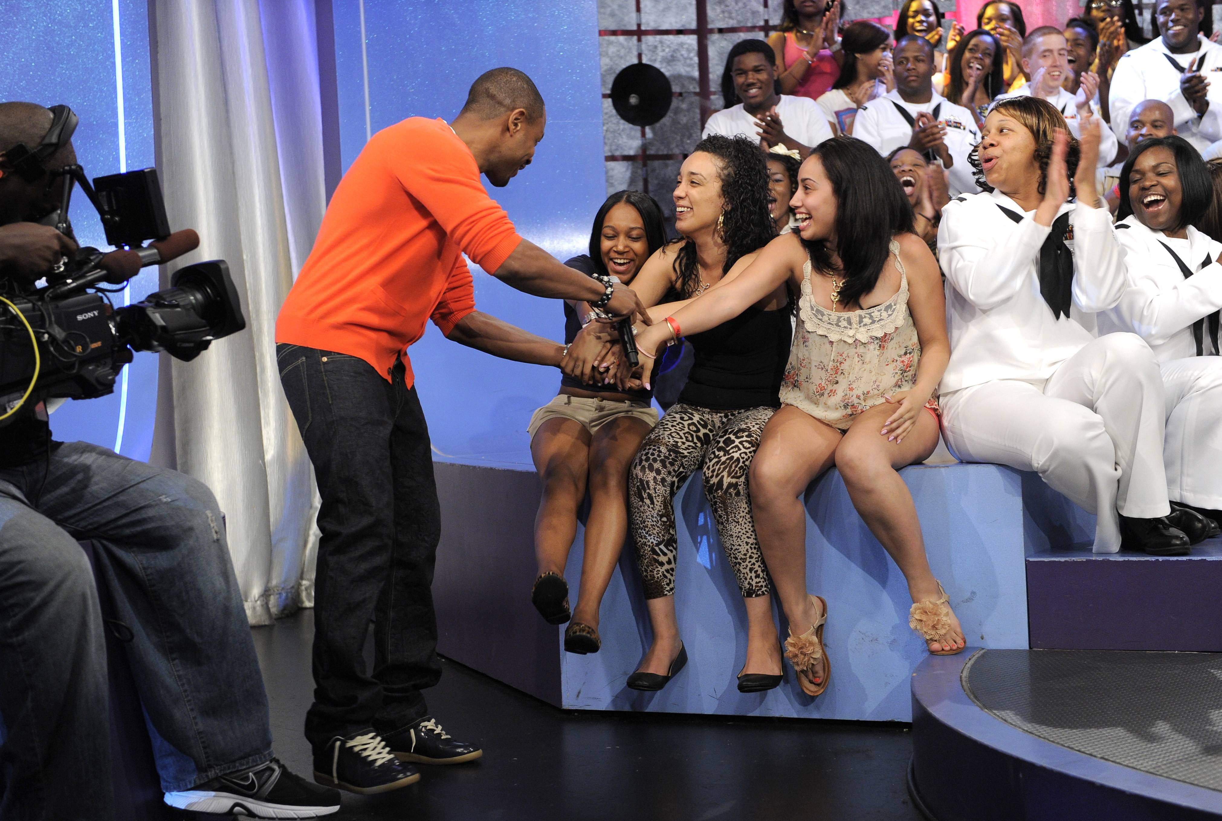 Here's Tank - Tank takes the stage at106 & Park, May 29, 2012. (Photo: John Ricard / BET)