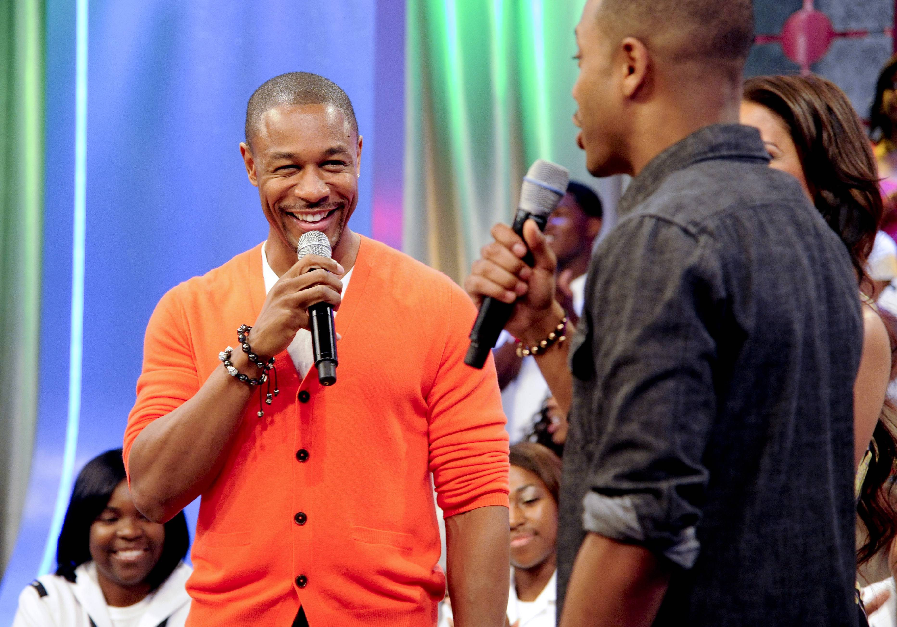 Wave - Tank takes the stage at 106 & Park, May 29, 2012. (Photo: John Ricard / BET)