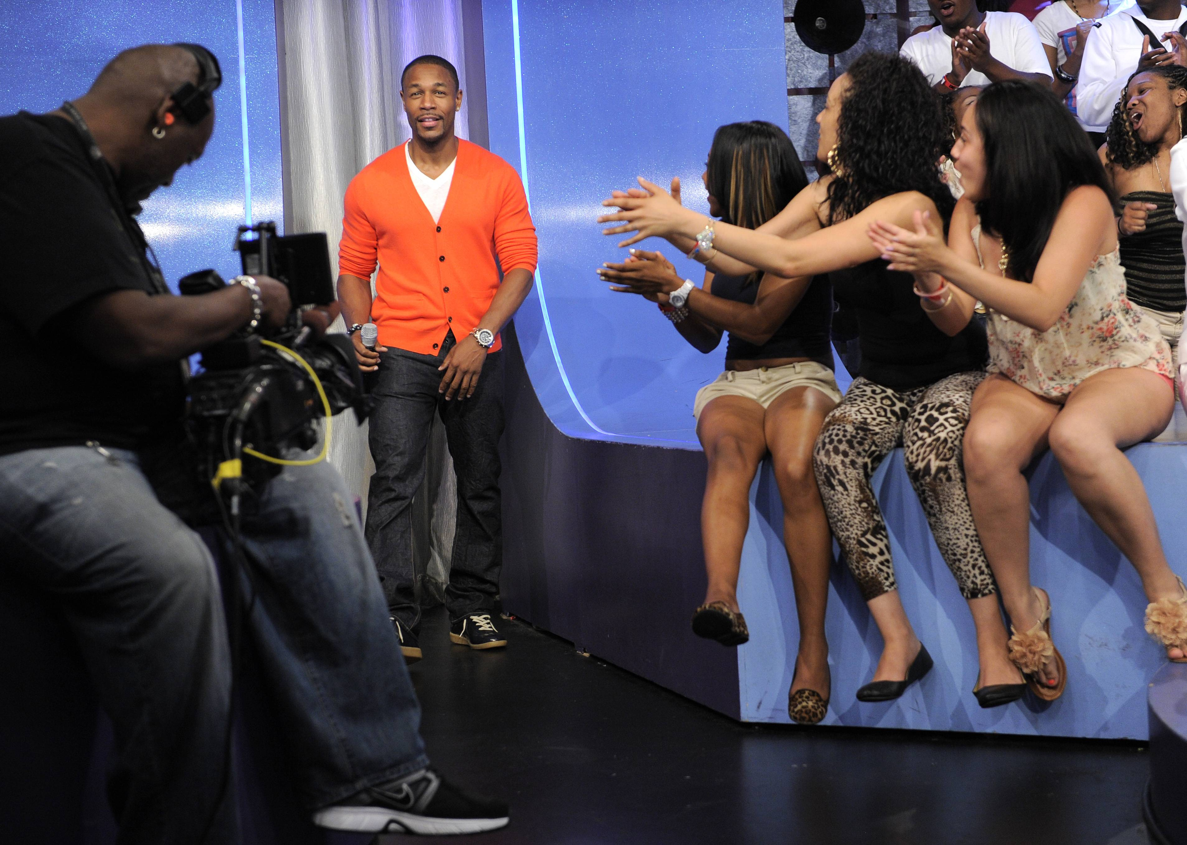 We Love Tank - Tank takes the stage at 106 & Park, May 29, 2012. (Photo: John Ricard / BET)
