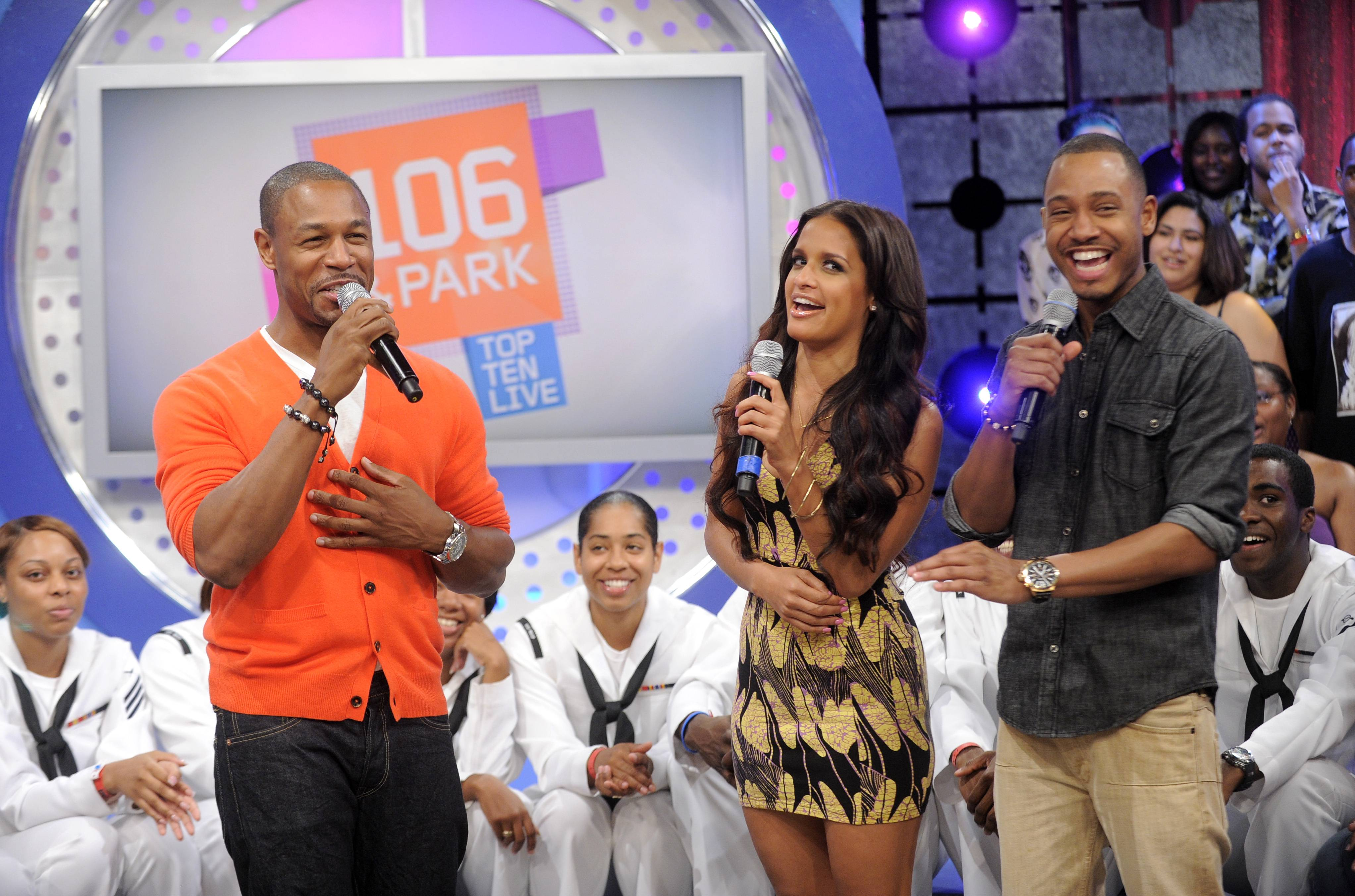 Good - Tank with Rocsi Diaz and Terrence J at 106 & Park, May 29, 2012. (Photo: John Ricard / BET)