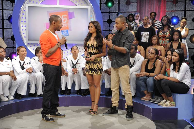 I Can't Complain - Tank with Rocsi Diaz and Terrence J at106 & Park, May 29, 2012. (Photo: John Ricard / BET)