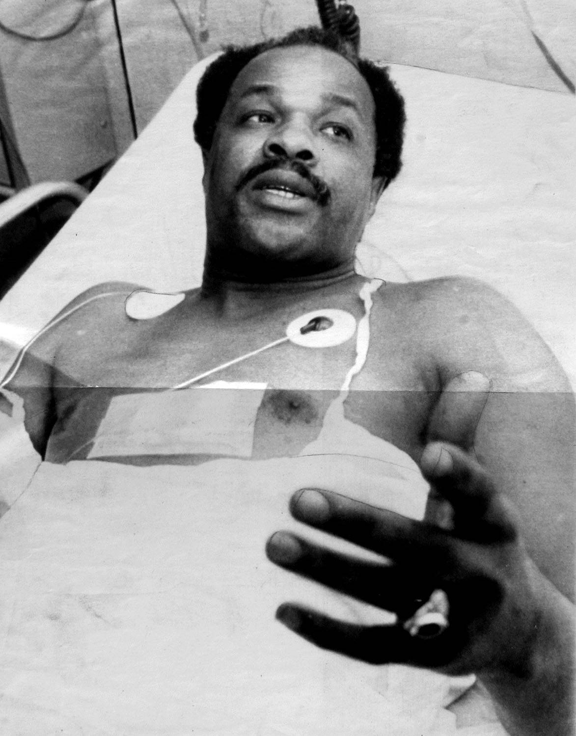 A Brush With Danger - In 1977, Barry was shot by Hanafi Muslims during a siege of the District Building, where he served as a city councilman. Luckily, his wounds were only superficial and his hospital stay brief.   (Photo: Afro American Newspapers/Gado/Getty Images)