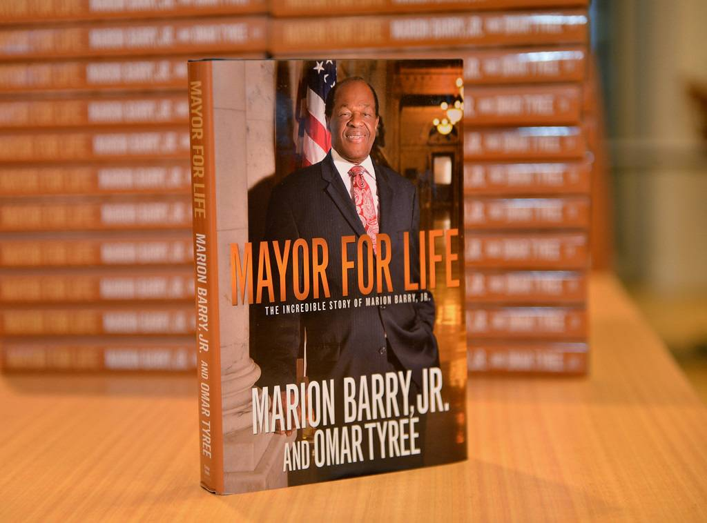 Having His Say - In June, Barry published his memoir, Mayor for Life: The Incredible Story of Marion Barry Jr. In it he writes, ?I don?t want my life and legacy to be all about what happened to me at the Vista Hotel,?referring to his infamous 1990 drug bust.  (Photo: Phelan Marc/BET)