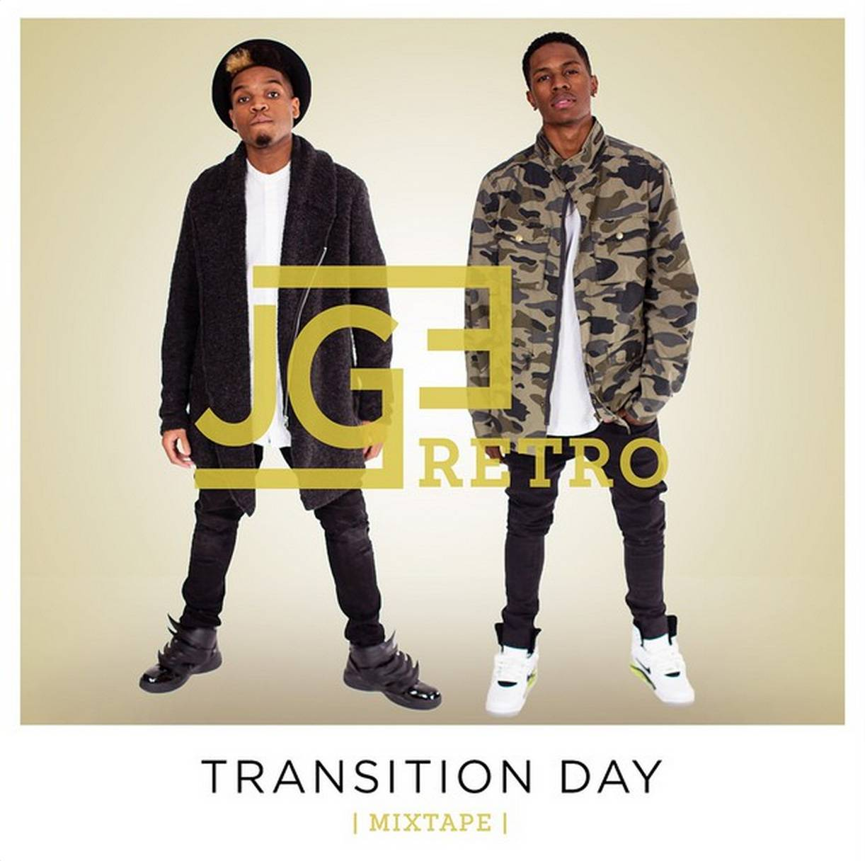 #TransitionDay - The cover art to JGERetro's upcoming digital album. (Photo: Jackie Gabrielle Entertainment via Instagram)