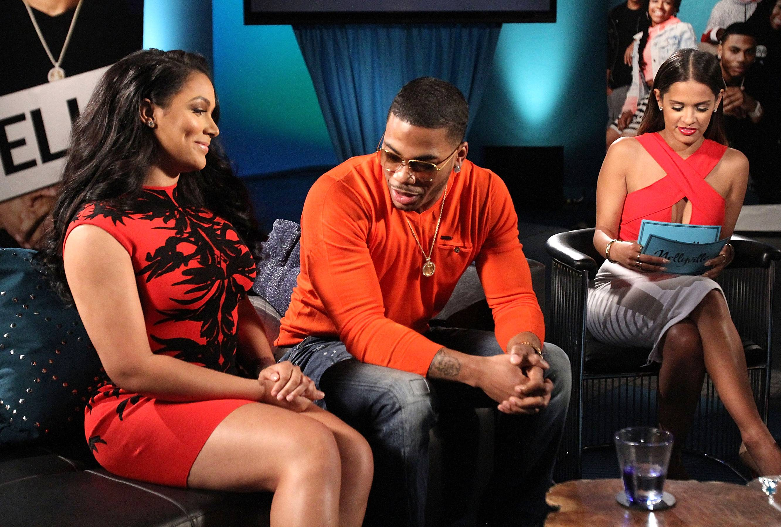 That Thang! - Nelly can't focus while Miss Jackson's around. (Photo: Maury Phillips/WireImage)