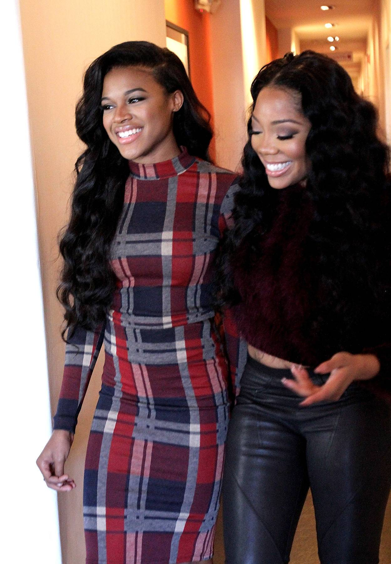 Sister-Cousin Chronicles (Part Deux) - Who knows what Nana and Stink are laughing about, but they must be up to something. (Photo by Maury Phillips/WireImage)