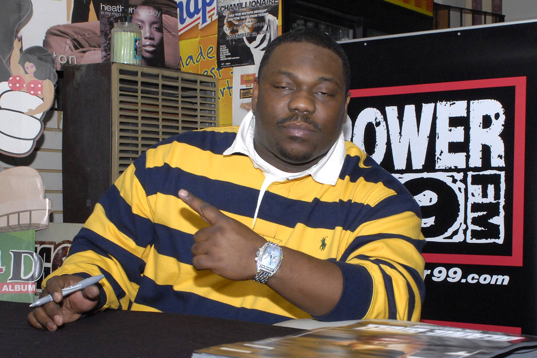 Beanie Sigel Out of Hospital - Beanie Sigel was released from the hospital after spending a month in care, according to reports. The rapper was shot in the stomach outside of a New Jersey home last month following an altercation. He was rushed to the hospital where he had surgery. Get well soon!(Photo: Gilbert Carrasquillo/Splash News)