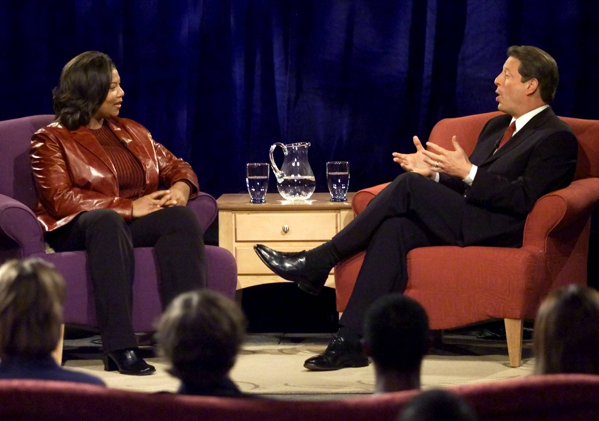 The Evolution of Queen Latifah - Latifah started getting more and more mainstream attention with the two-year run of her syndicated talk show, The Queen Latifah Show.(Photo: Reuters)