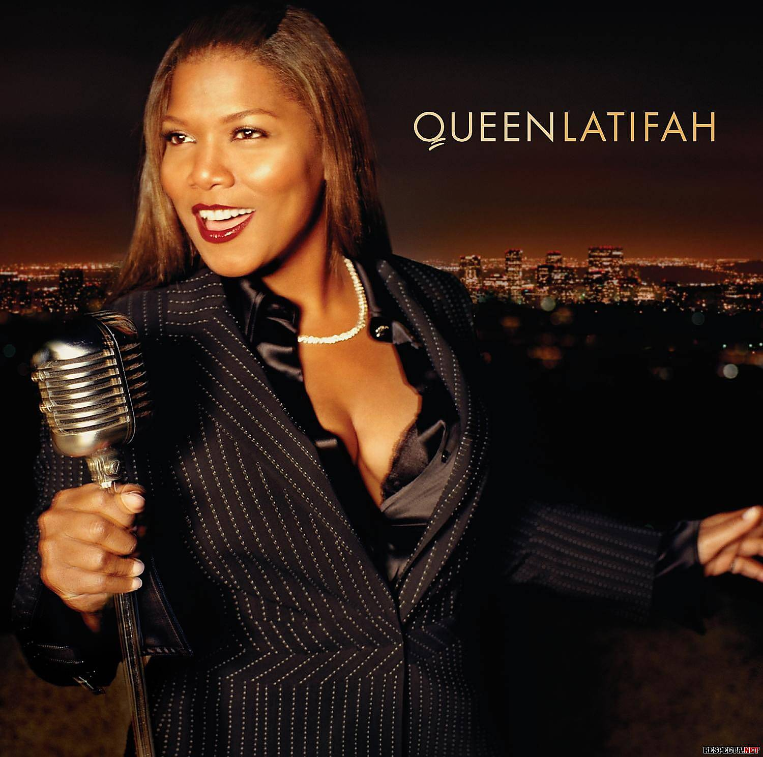 The Evolution of Queen Latifah - After showing off her surprisingly strong pipes in Chicago, Latifah followed through with a new LP, 2004's The Dana Owens Album, which found her switching lanes away from rap and belting out jazz standards. The boundary-breaking album was her most successful to date, selling more than 600,000 copies.(Photo: Flavor Unit)