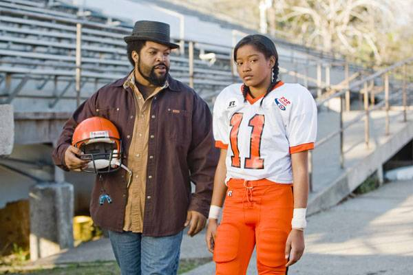 Jasmine Plumber in The Longshots - In this real life story, Palmer portrays the first girl to play in the Pop Warner football tournament. Add Ice Cube to the mix and you have the makings of a great family comedy.(Photo: Dimension Films)