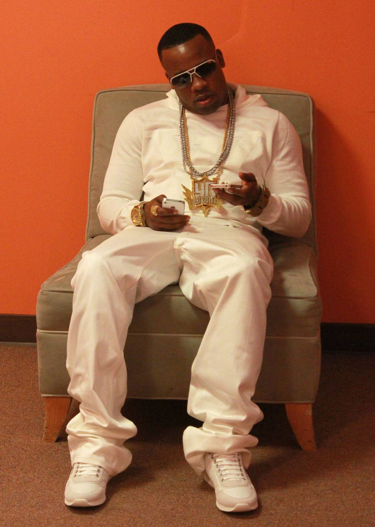 Tonight, It's All About Him - Don't miss Yo Gotti live tonight on 106 & Park!(Photo: Slim/BET)