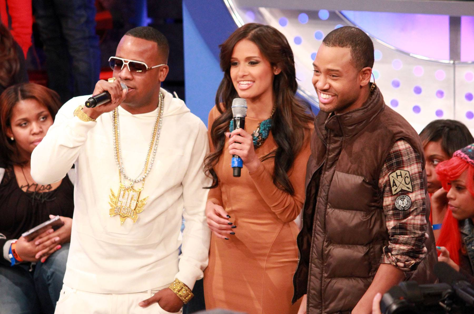 It's Cooking - Yo Gotti on set at 106 & Park. (photo by: Slim)