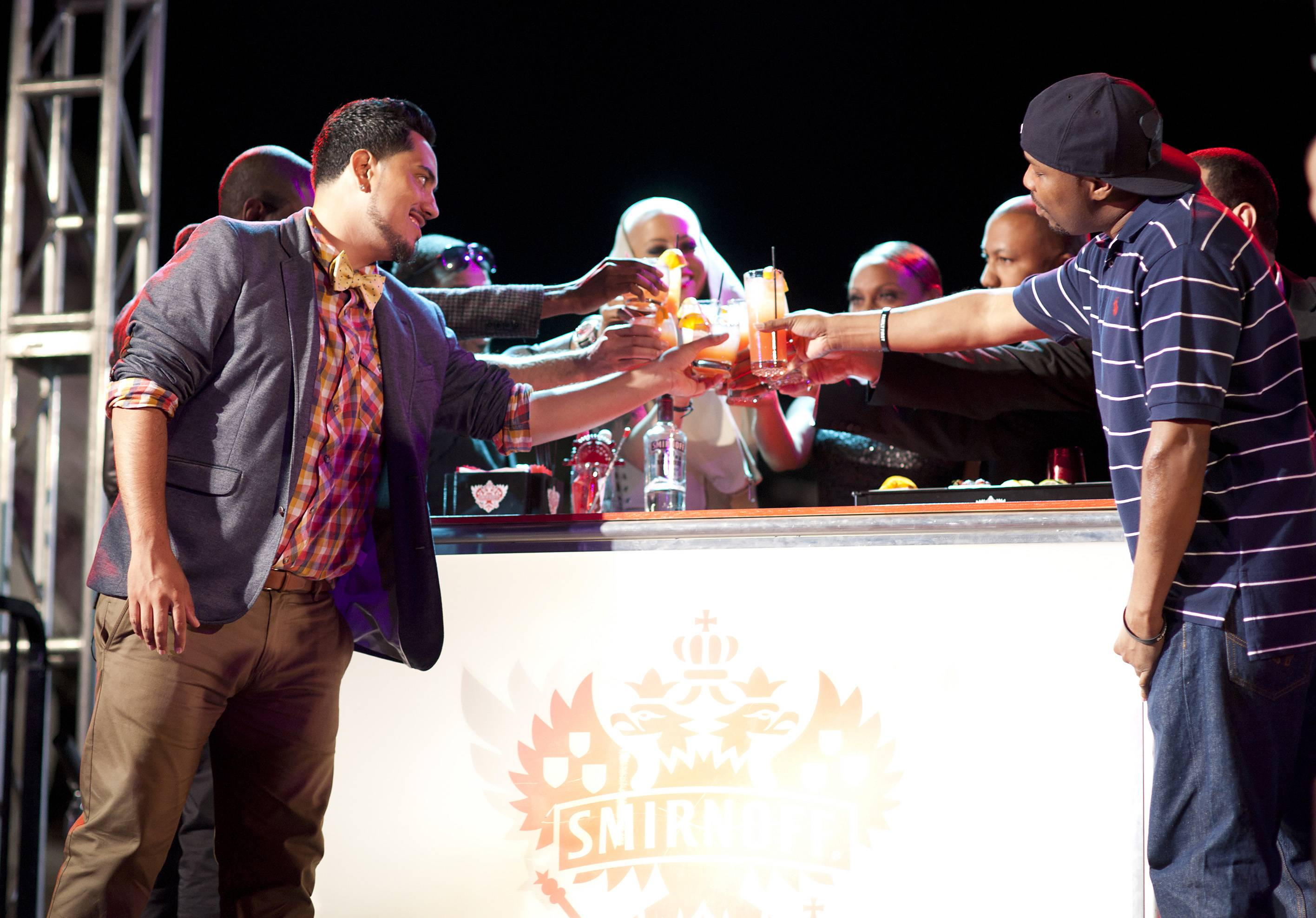 Cheers to a Great Second Season! - As we await the final episode, when someone will be crowned the new Master of the Mix. (Photo: Moses Mitchell/BET)