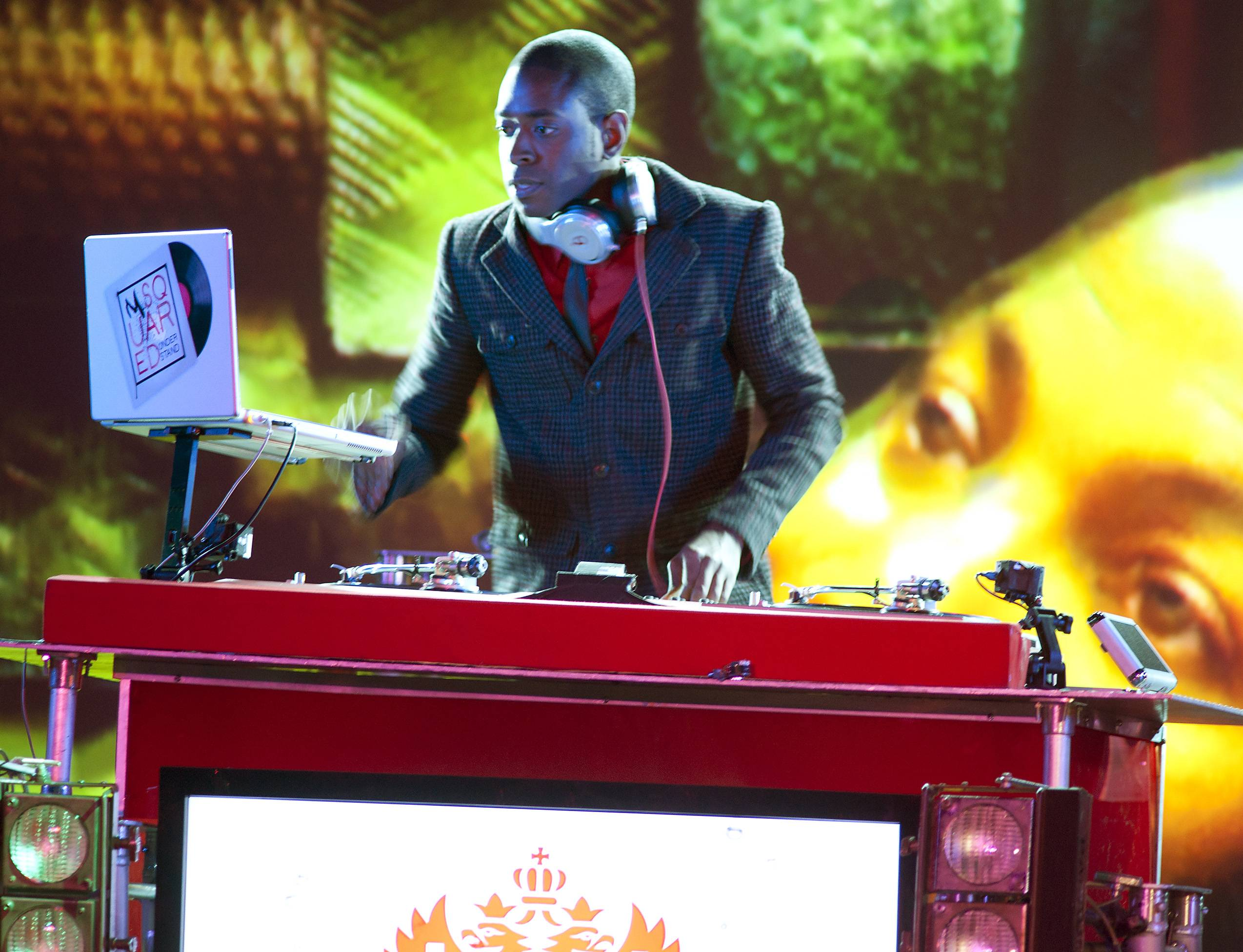 Rep Yo Set! - DJ M-Squared getting his serato ready for the final challenge. (Photo: Moses Mitchell/BET)