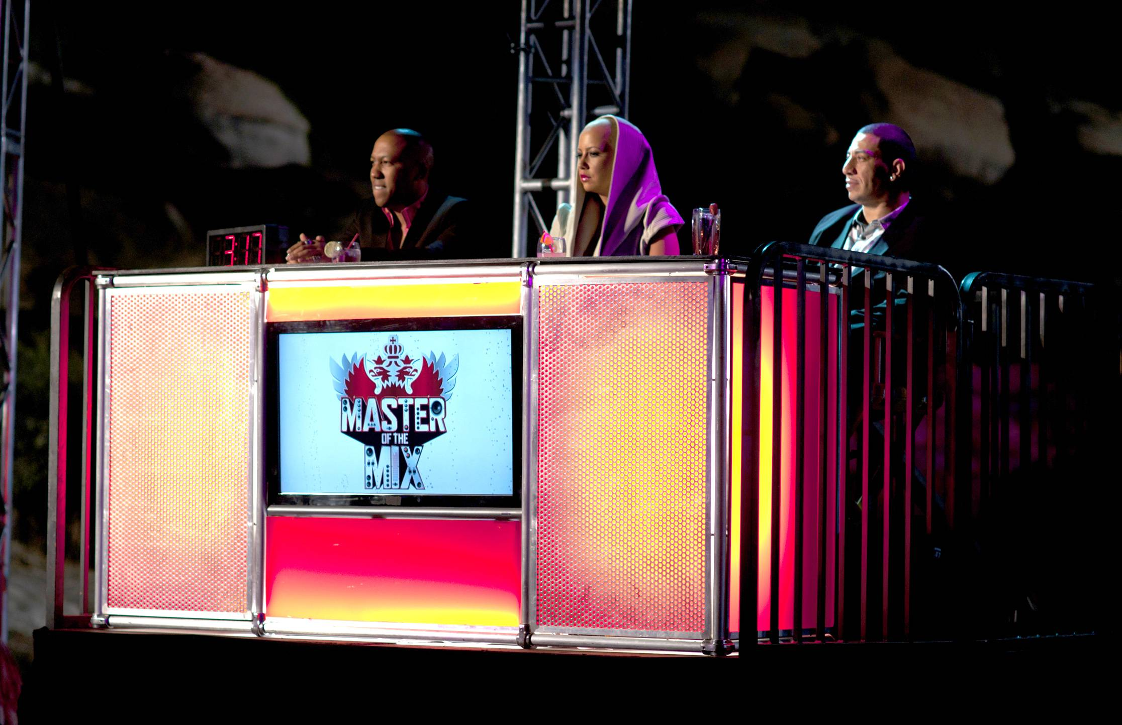 The Judges Are in Place - Ready to see who is set to rock the party and prove they are Master of the Mix. (Photo: Moses Mitchell/BET)