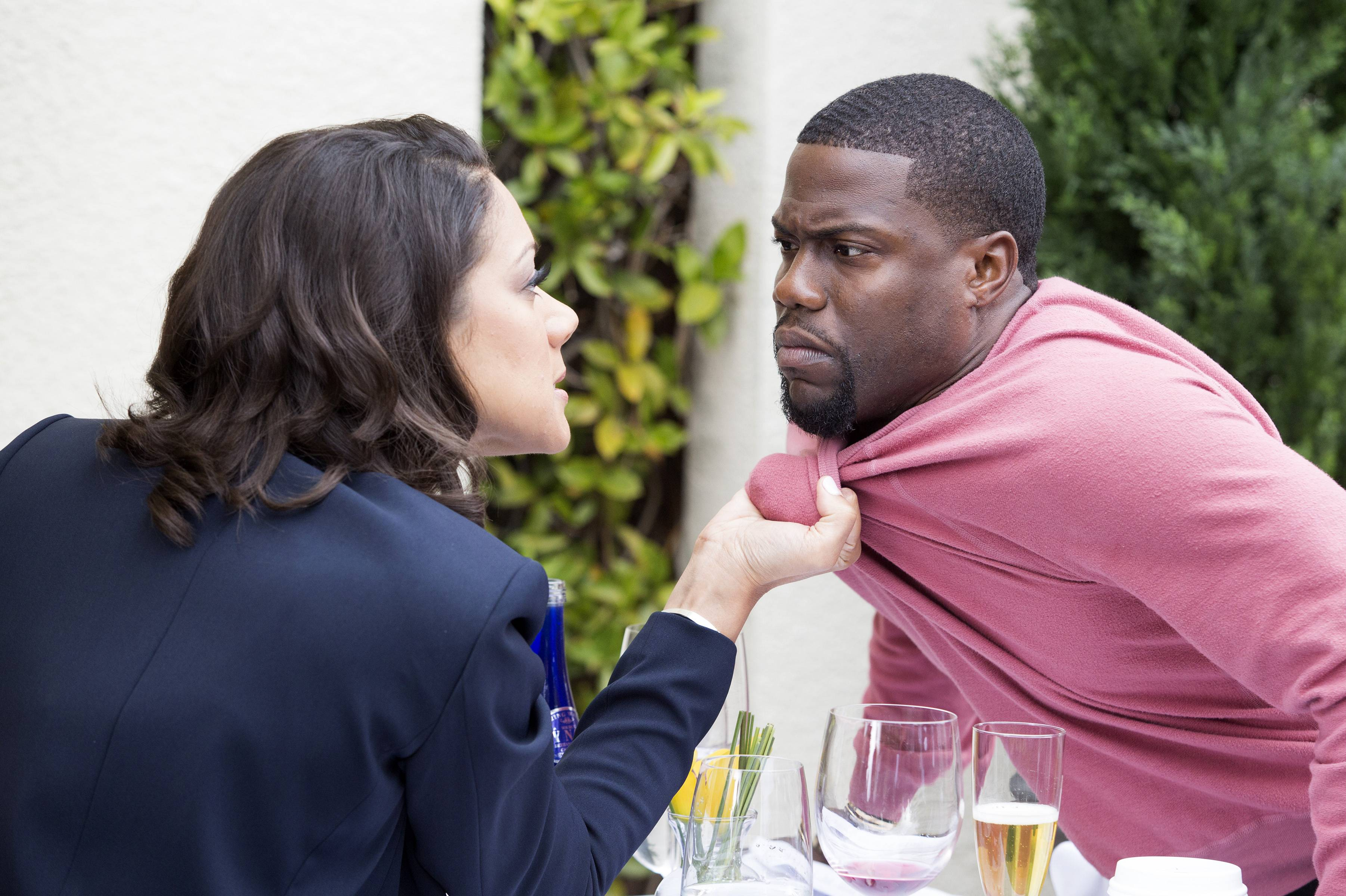 Kevin gets his offer taken away, but Trina isn't having it. - (Photo: BET)