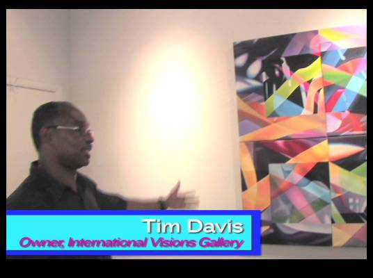 Travelistas:Washington, DC - To discover more of the cultural influences of DC, ?Travelistas? visited the International Visions Gallery to get a taste of the local art scene.<br><br>Owner Tim Davis showed tons of beautiful art pieces jam-packed with color.