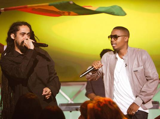 Nas & Damian Marley - The duo performs ?As We Enter? from their album, ?Distant Relatives.?