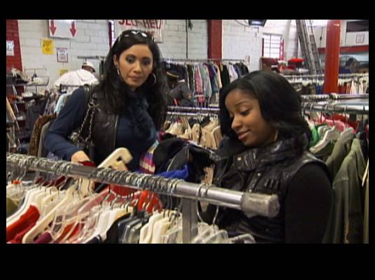 Frugal Fashions - Toya ends up in a thrift store searching for pieces to make a hot outfit.