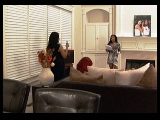 Practice Makes Perfect - Danielle and Tiny help Toya practice for her role as mistress of ceremonies.