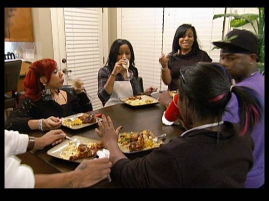 New Edition - MeMpHitz blends in well with Toya's friends and family.