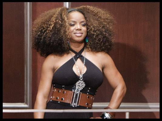 Leela James - Like Mo?Nique, Leela James is also a BET host. She joined season 2 of ?My Black is Beautiful.?