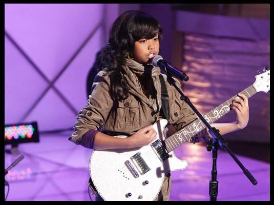 Gabi Wilson - Twelve-year-old musician Gabi Wilson performs Alicia Keys? ?If I Ain't Got You.?