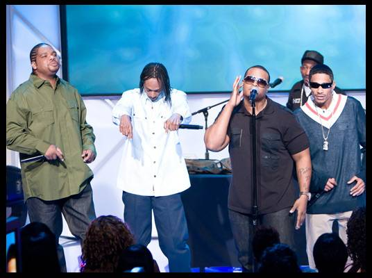 Bone Thugs - Bone Thugs perform ?Gone? with Ricco Barrino from their new album, ?Uni-5: The World?s Enemy.?