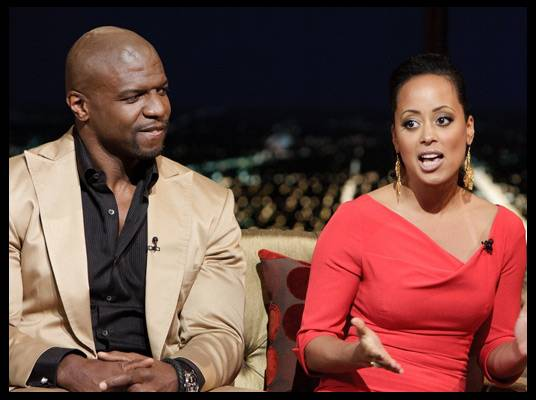 Terry Crews & Essence Atkins - Terry and Essence star as a newlywed couple in Ice Cube?s new comedy series ?Are We There Yet?? The show allows them to draw from their real-life experiences.