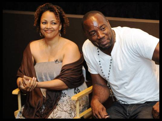 Actors Kim Fields and Malik Yoba - They've both worked behind the scenes and in front of the camera.