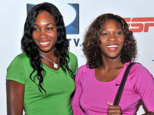 Serena & Venus Williams - Younger sister Serena is currently ranked World Number 1 by the Women?s Tennis Association, a ranking that both ladies have had on multiple occasions. With multiple Olympic gold medals and broken records on their resumes, it seems like their main competition is each other.