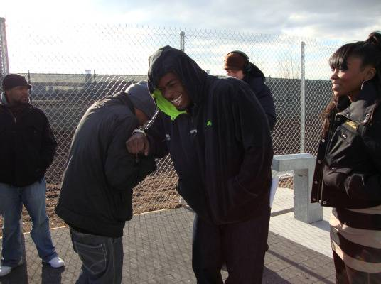Behind The Scenes - Memphitz jokes with OJ Da Juiceman