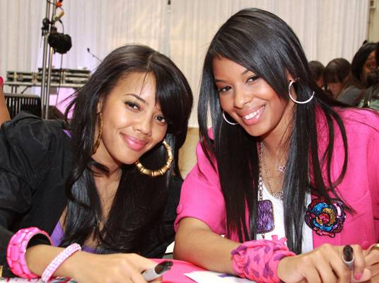 Angela & Vanessa Simmons - The daughters of hip-hop pioneer Rev Run were introduced to the world on the reality series, ?Run?s House.? Vanessa soon broke into acting when she won a role on ?Guiding Light.? The sisters launched their shoe line, Pastry Footwear, in 2007 before starring in their own reality series, ?Daddy?s Girls.?