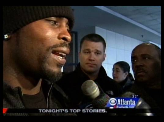 Philadelphia Eagles - The news covers Mike?s return to Atlanta, where he used to play as a Falcon. Now he faces his old team as a Philadelphia Eagle.