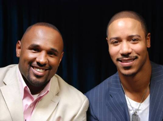 CoCo Brother & Brian White - CoCo Brother and actor Brian White are all smiles.