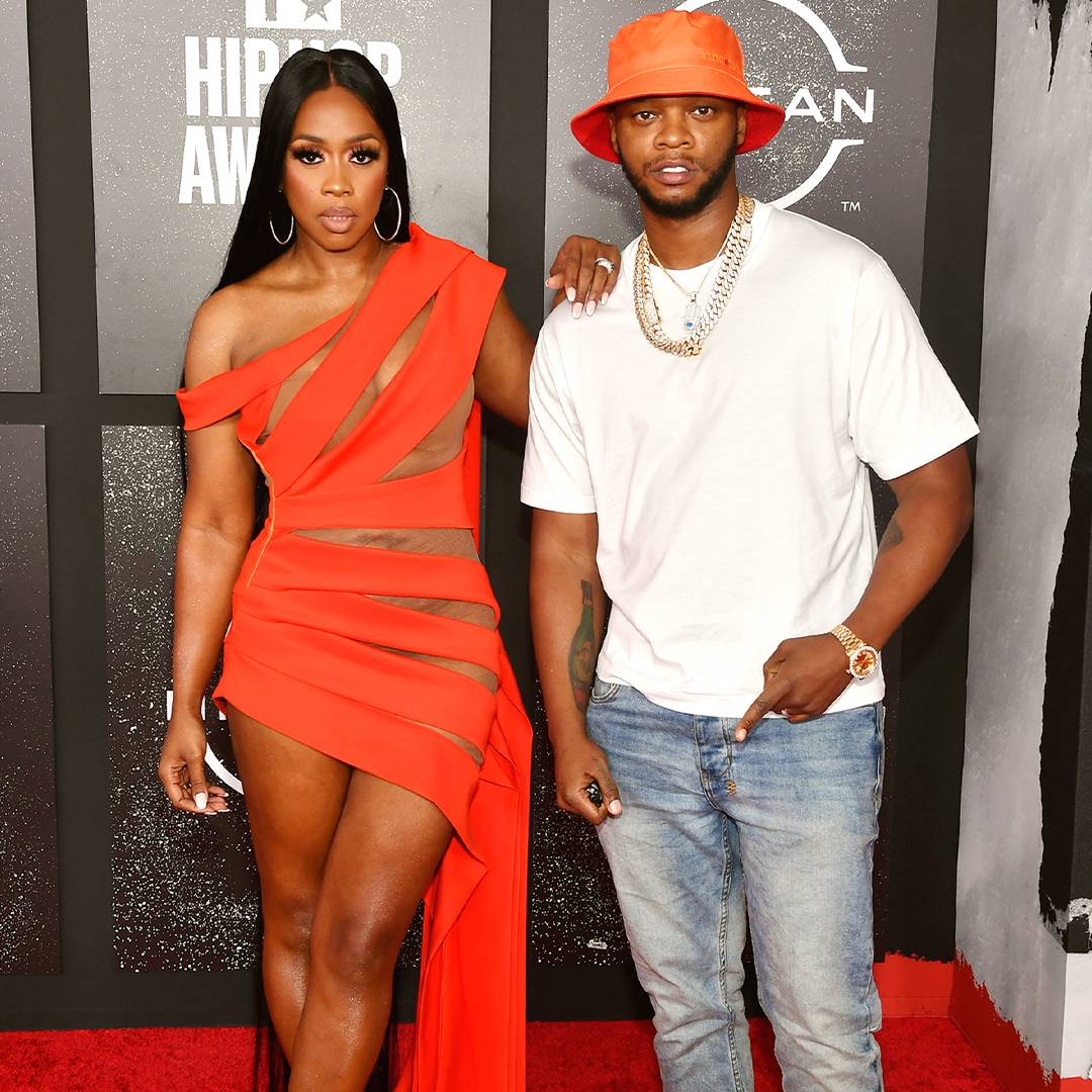 BET Hip Hop Awards 2021 | Red Carpet Remy Ma and Papoose | 1080 x 1080