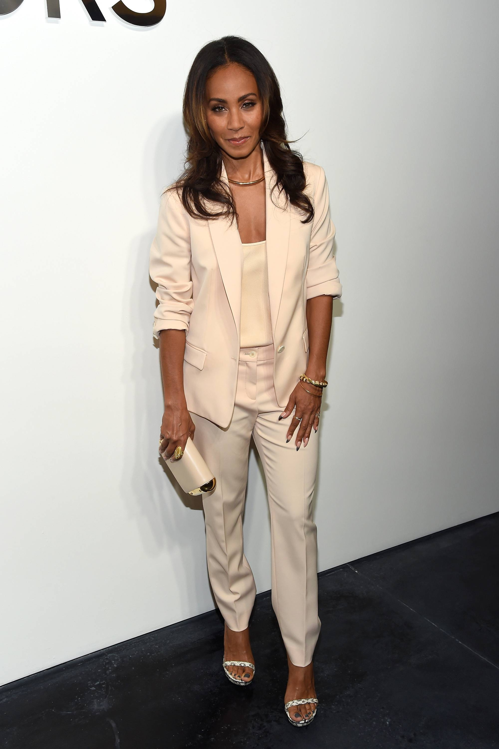 Jada Pinkett Smith - September 16, 2014 - Jada Pinkett-Smith came through to talk about her new character, Fish Mooney in new series Gotham. Watch a clip now!(Photo: Larry Busacca/Getty Images for Michael Kors)