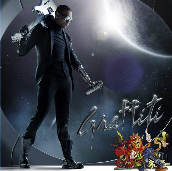 """The Evolution of Chris Brown - Chris got on the comeback trail with his third album, Graffiti, later that year, which featured the Swizz Beatz?produced monster hit """"I Can Transform Ya,"""" featuring Lil Wayne.(Photo: Jive Records)"""